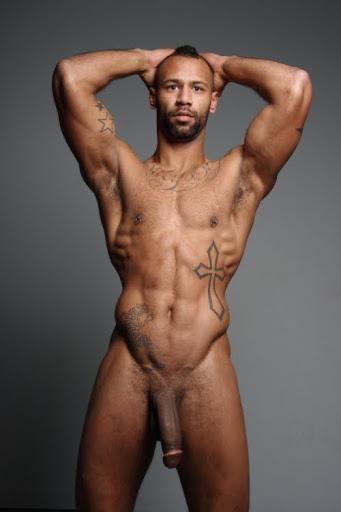 Beautiful black gay man